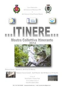 Locandina Itinere 2014.